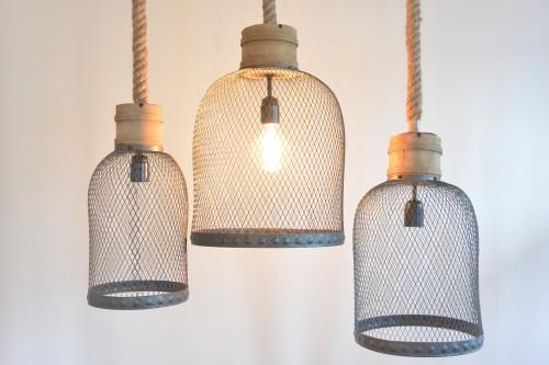 Hanglamp Met Touw.Touwlampen Zwart Feliz
