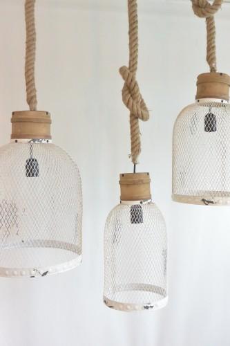 Hanglamp Met Touw.Touwlampen Wit Feliz