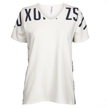 Zoso T-Shirt with Piping and Print Jerry
