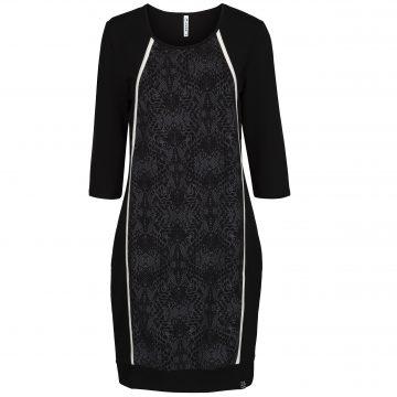 Zoso Dress With Print Stone