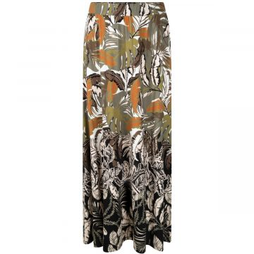 Tramontana Skirt Long Botanical